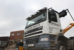Skip Hire in Romford hook loader