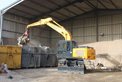 Skip Hire in Romford transfer station